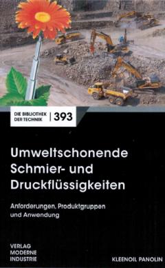 Buchcover Umweltfreundlichen Schmier- und Druckflüssigkeiten